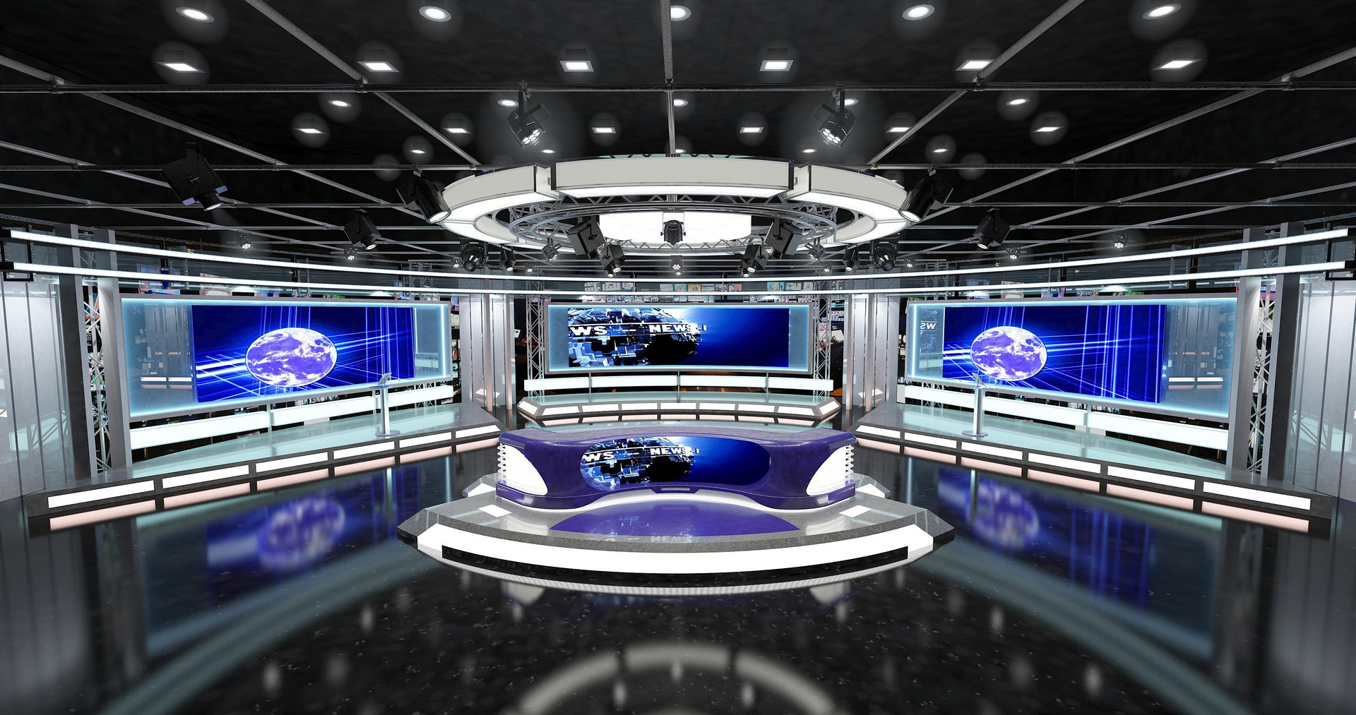 Virtual,Tv,Studio,News,Set,1.,3d,Rendering.,Virtual,Set